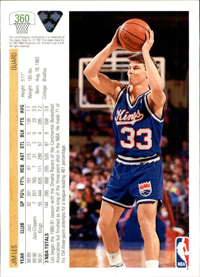 thumbnail 221 - 1991-92 Upper Deck Bk Cards 251-500 +Rookies A2500 - You Pick - 10+ FREE SHIP