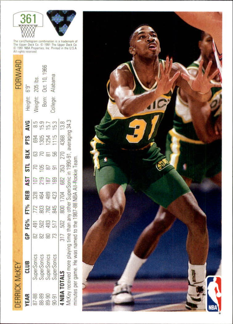 thumbnail 223 - 1991-92 Upper Deck Bk Cards 251-500 +Rookies A2500 - You Pick - 10+ FREE SHIP