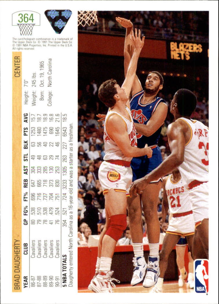 thumbnail 229 - 1991-92 Upper Deck Bk Cards 251-500 +Rookies A2500 - You Pick - 10+ FREE SHIP