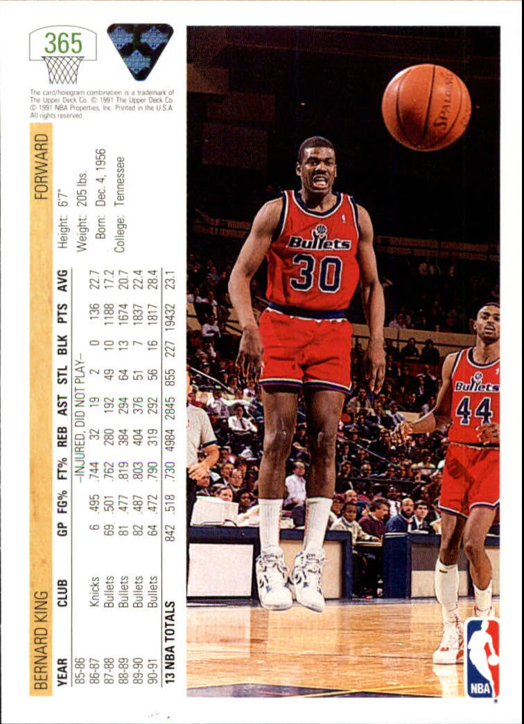 thumbnail 231 - 1991-92 Upper Deck Bk Cards 251-500 +Rookies A2500 - You Pick - 10+ FREE SHIP