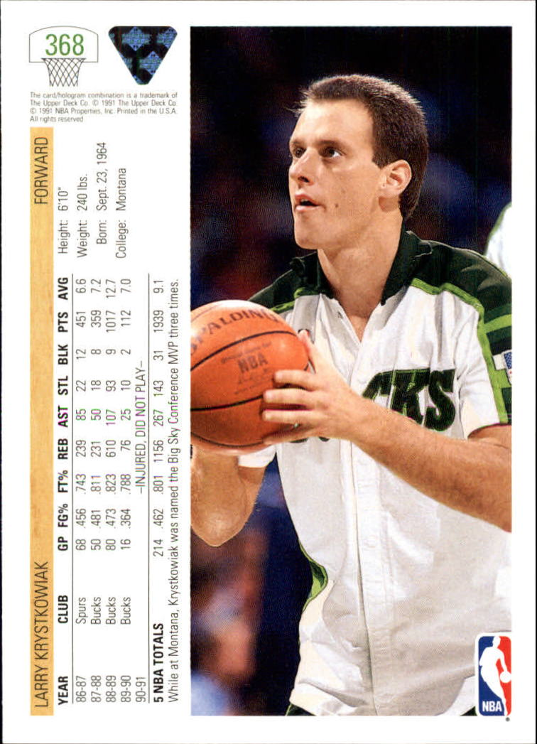 thumbnail 237 - 1991-92 Upper Deck Bk Cards 251-500 +Rookies A2500 - You Pick - 10+ FREE SHIP