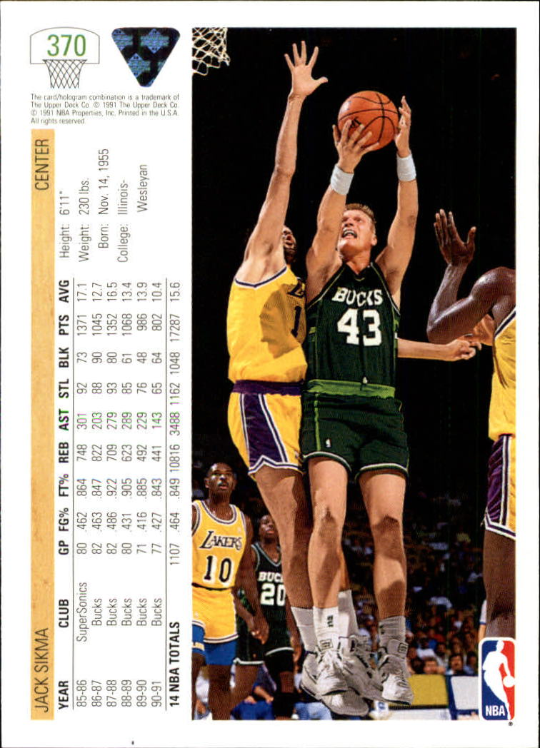 thumbnail 241 - 1991-92 Upper Deck Bk Cards 251-500 +Rookies A2500 - You Pick - 10+ FREE SHIP