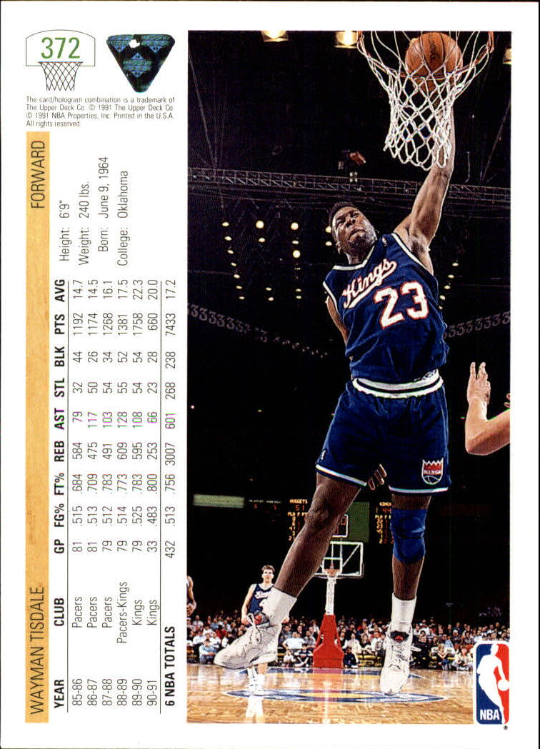 thumbnail 245 - 1991-92 Upper Deck Bk Cards 251-500 +Rookies A2500 - You Pick - 10+ FREE SHIP