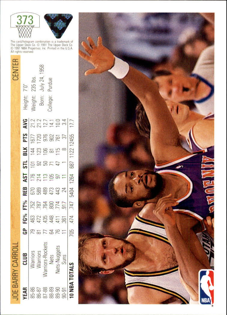 thumbnail 247 - 1991-92 Upper Deck Bk Cards 251-500 +Rookies A2500 - You Pick - 10+ FREE SHIP
