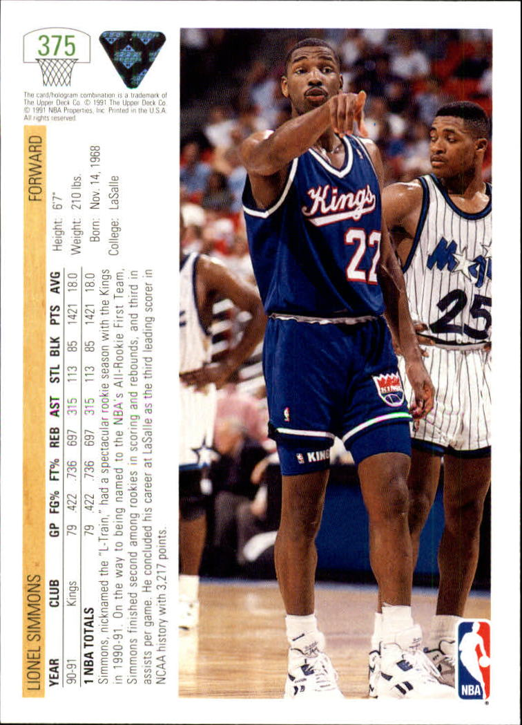 thumbnail 251 - 1991-92 Upper Deck Bk Cards 251-500 +Rookies A2500 - You Pick - 10+ FREE SHIP