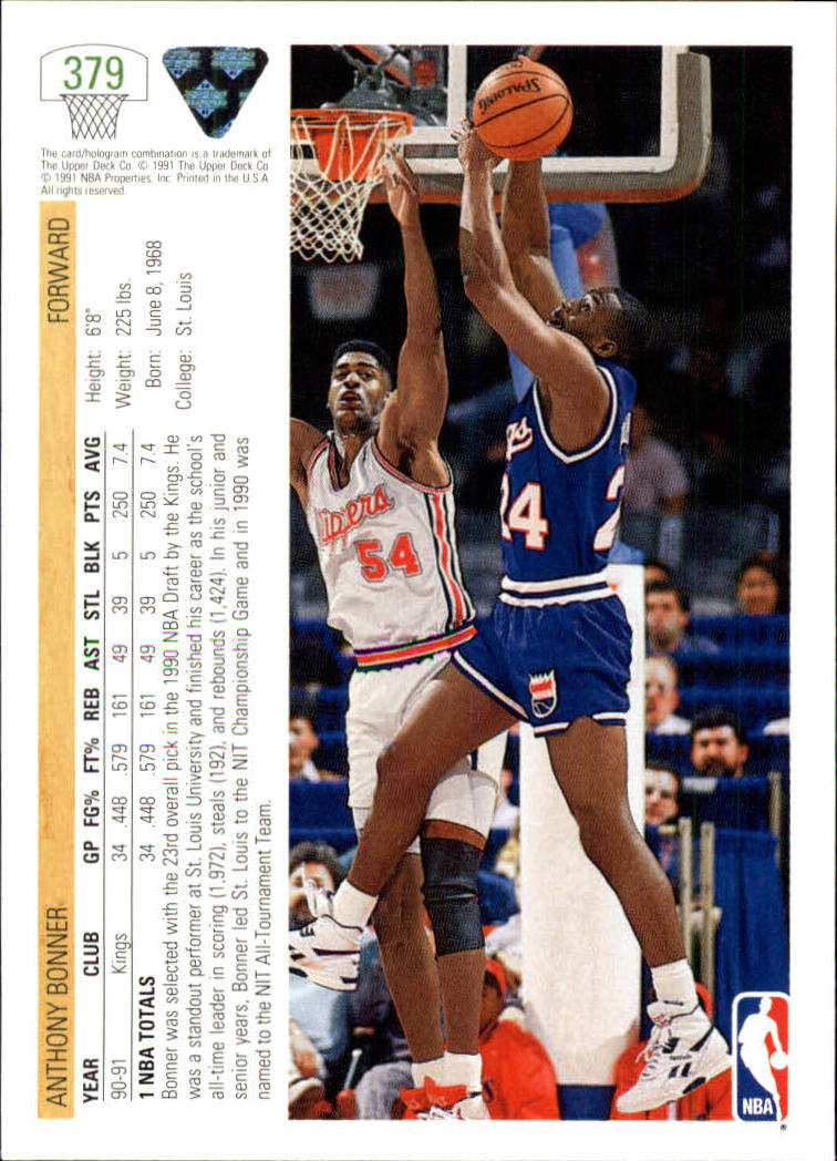 thumbnail 259 - 1991-92 Upper Deck Bk Cards 251-500 +Rookies A2500 - You Pick - 10+ FREE SHIP