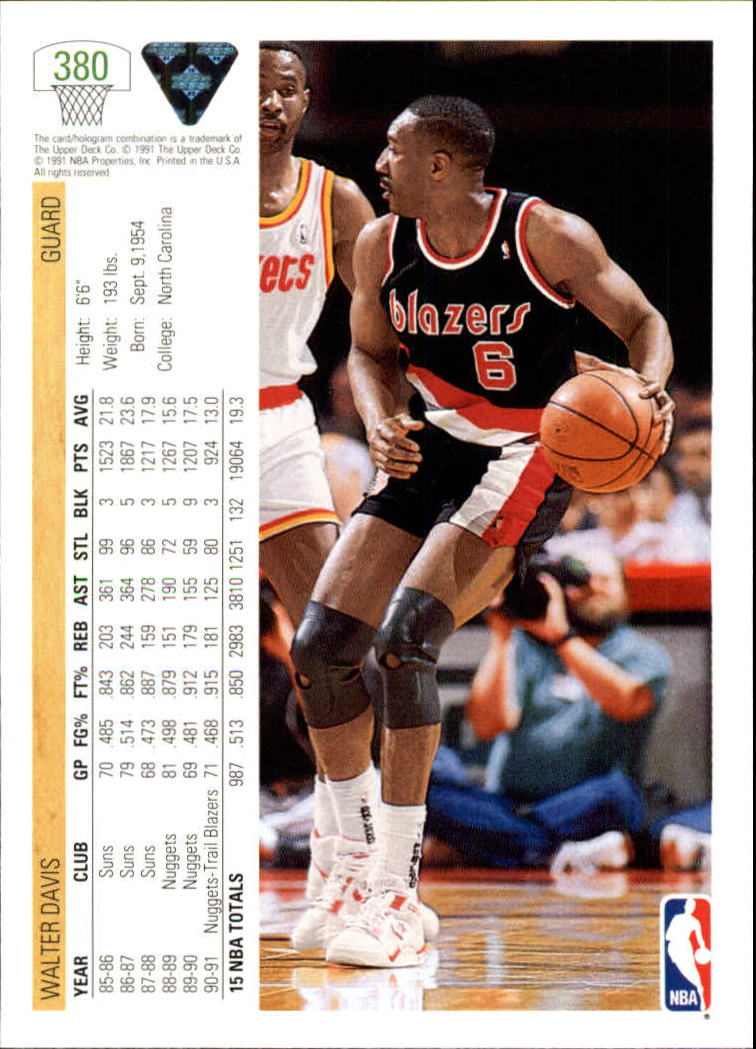 thumbnail 261 - 1991-92 Upper Deck Bk Cards 251-500 +Rookies A2500 - You Pick - 10+ FREE SHIP