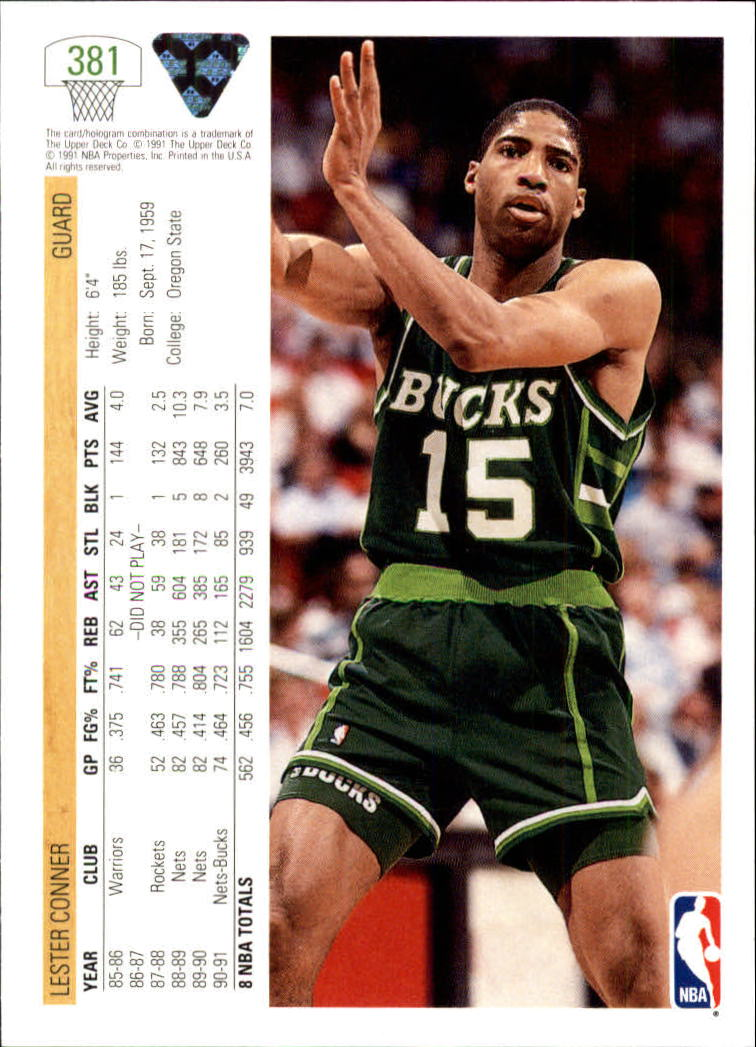 thumbnail 263 - 1991-92 Upper Deck Bk Cards 251-500 +Rookies A2500 - You Pick - 10+ FREE SHIP