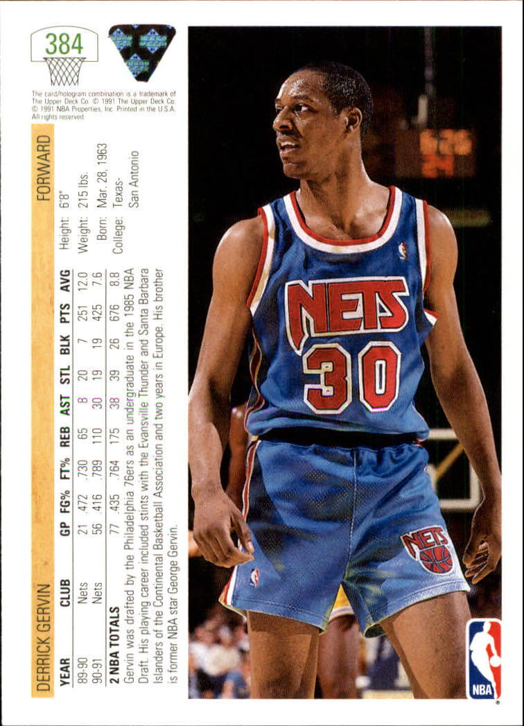 thumbnail 269 - 1991-92 Upper Deck Bk Cards 251-500 +Rookies A2500 - You Pick - 10+ FREE SHIP