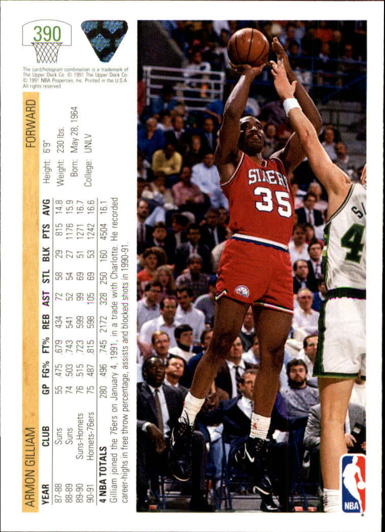 thumbnail 281 - 1991-92 Upper Deck Bk Cards 251-500 +Rookies A2500 - You Pick - 10+ FREE SHIP