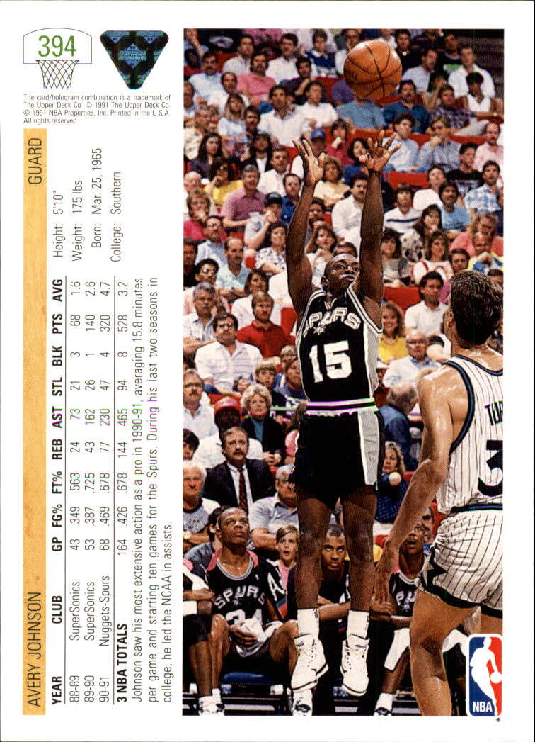 thumbnail 289 - 1991-92 Upper Deck Bk Cards 251-500 +Rookies A2500 - You Pick - 10+ FREE SHIP