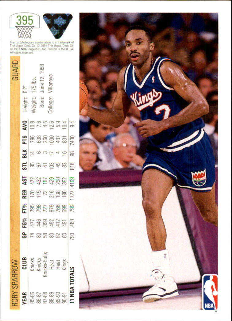 thumbnail 291 - 1991-92 Upper Deck Bk Cards 251-500 +Rookies A2500 - You Pick - 10+ FREE SHIP