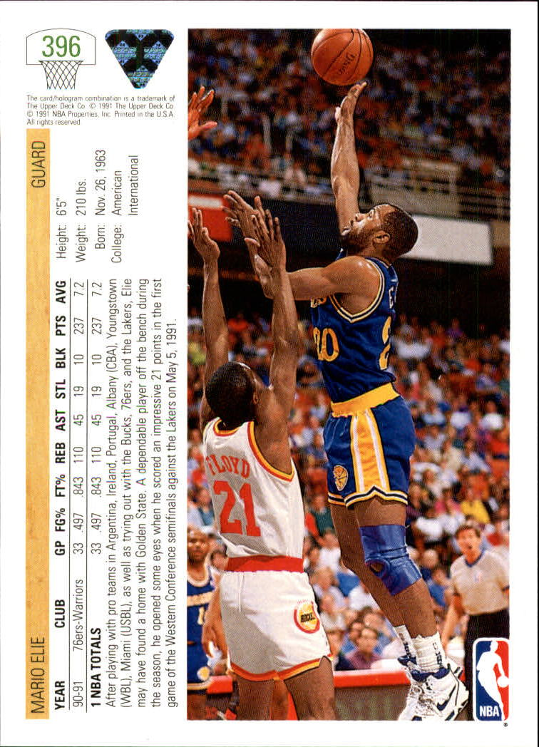 thumbnail 293 - 1991-92 Upper Deck Bk Cards 251-500 +Rookies A2500 - You Pick - 10+ FREE SHIP