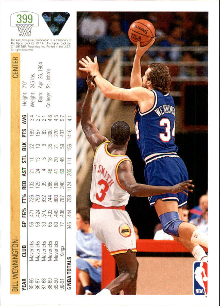 thumbnail 299 - 1991-92 Upper Deck Bk Cards 251-500 +Rookies A2500 - You Pick - 10+ FREE SHIP