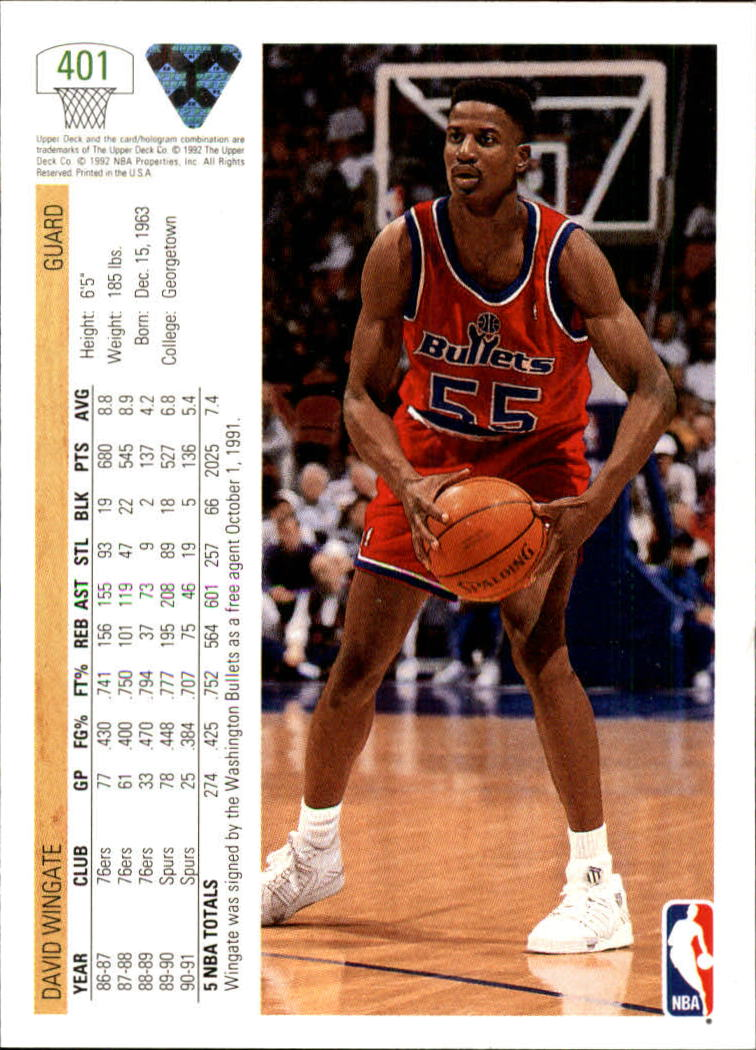 thumbnail 303 - 1991-92 Upper Deck Bk Cards 251-500 +Rookies A2500 - You Pick - 10+ FREE SHIP