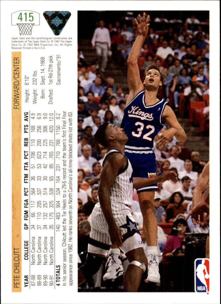 thumbnail 323 - 1991-92 Upper Deck Bk Cards 251-500 +Rookies A2500 - You Pick - 10+ FREE SHIP
