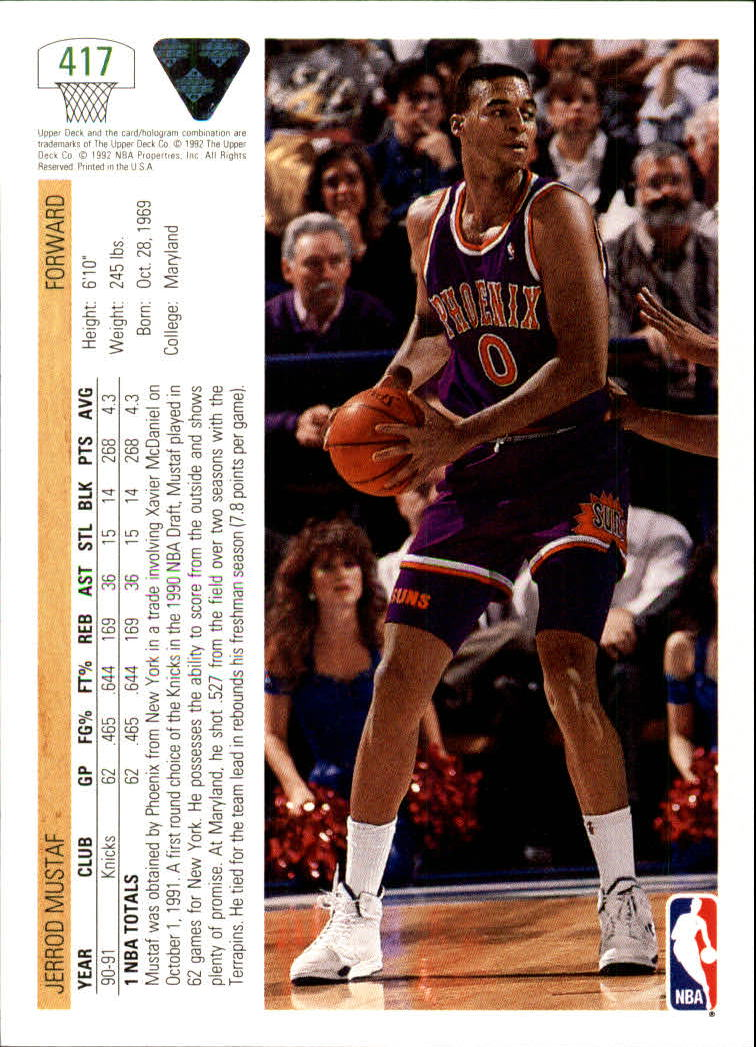 thumbnail 325 - 1991-92 Upper Deck Bk Cards 251-500 +Rookies A2500 - You Pick - 10+ FREE SHIP