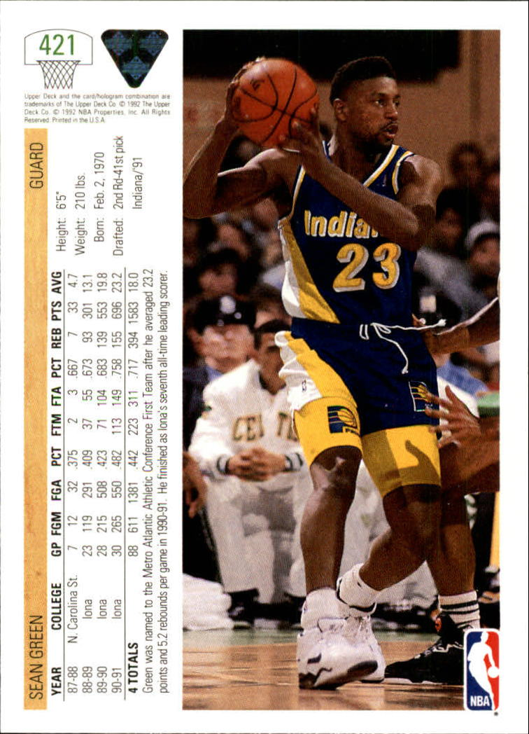 thumbnail 329 - 1991-92 Upper Deck Bk Cards 251-500 +Rookies A2500 - You Pick - 10+ FREE SHIP