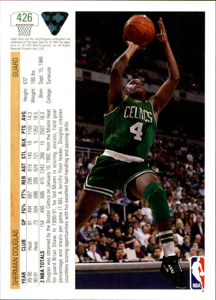 thumbnail 337 - 1991-92 Upper Deck Bk Cards 251-500 +Rookies A2500 - You Pick - 10+ FREE SHIP