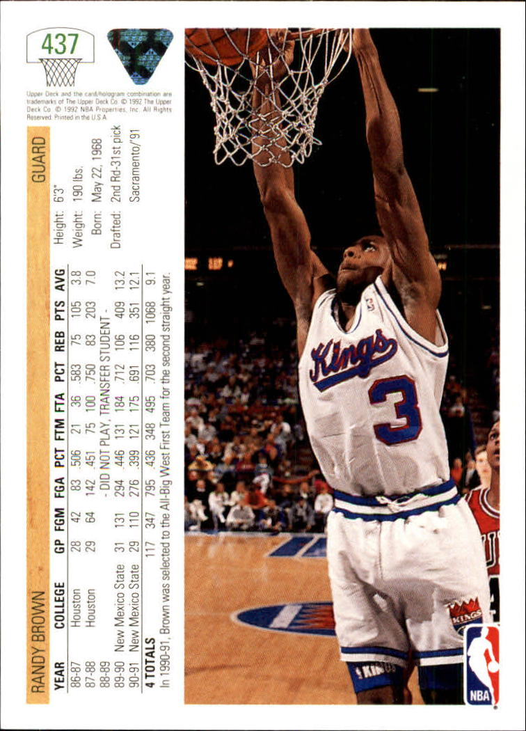 thumbnail 355 - 1991-92 Upper Deck Bk Cards 251-500 +Rookies A2500 - You Pick - 10+ FREE SHIP