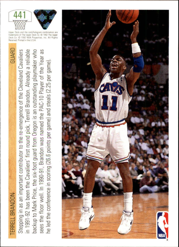 thumbnail 363 - 1991-92 Upper Deck Bk Cards 251-500 +Rookies A2500 - You Pick - 10+ FREE SHIP