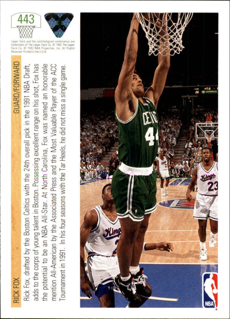 thumbnail 367 - 1991-92 Upper Deck Bk Cards 251-500 +Rookies A2500 - You Pick - 10+ FREE SHIP