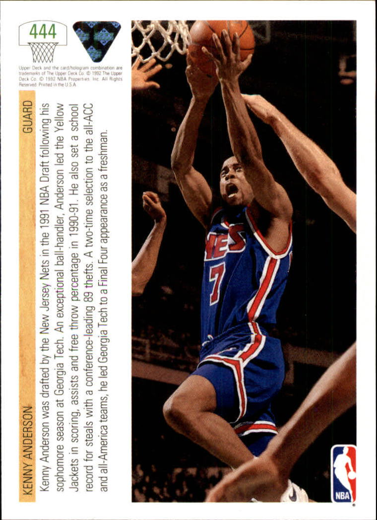 thumbnail 369 - 1991-92 Upper Deck Bk Cards 251-500 +Rookies A2500 - You Pick - 10+ FREE SHIP