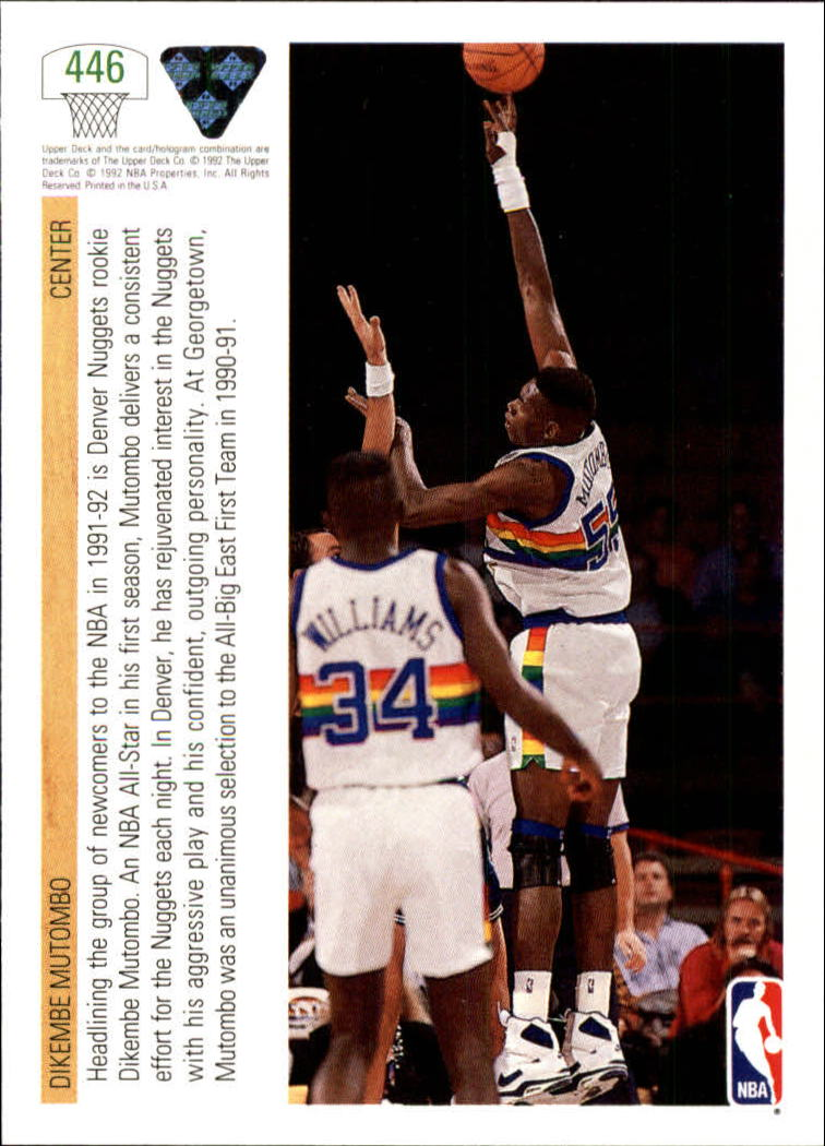 thumbnail 373 - 1991-92 Upper Deck Bk Cards 251-500 +Rookies A2500 - You Pick - 10+ FREE SHIP