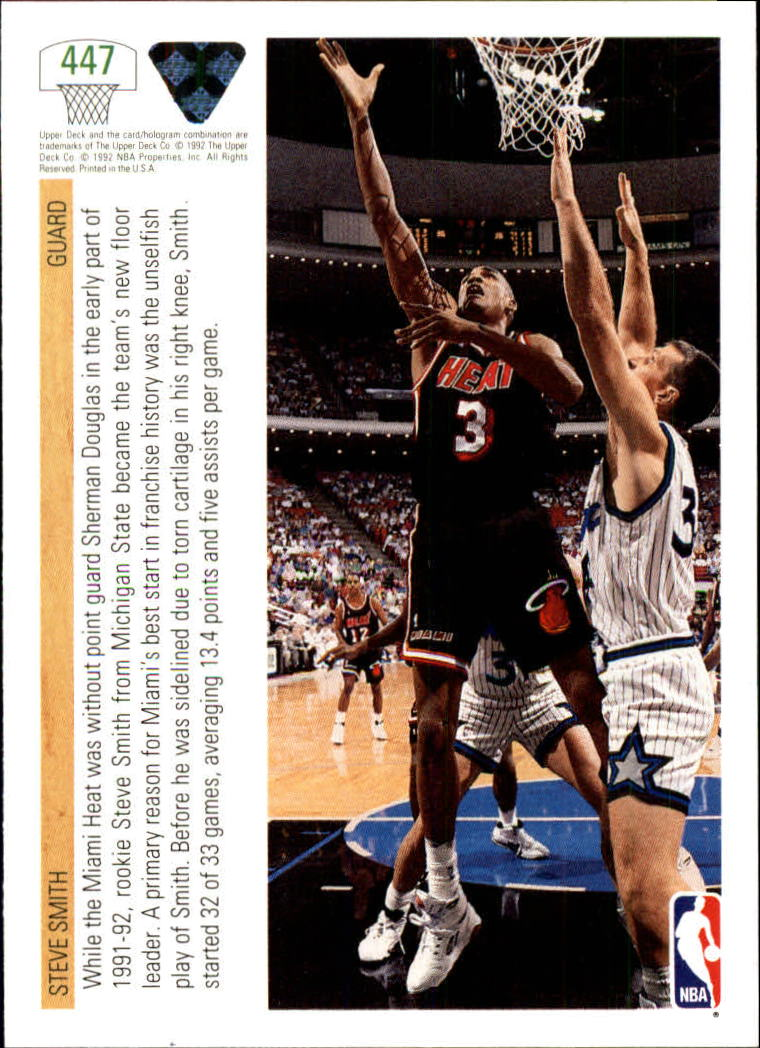 thumbnail 375 - 1991-92 Upper Deck Bk Cards 251-500 +Rookies A2500 - You Pick - 10+ FREE SHIP