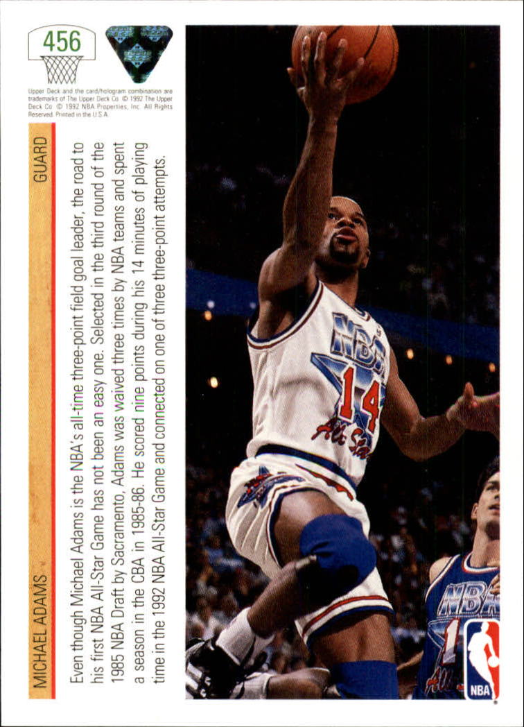 thumbnail 391 - 1991-92 Upper Deck Bk Cards 251-500 +Rookies A2500 - You Pick - 10+ FREE SHIP