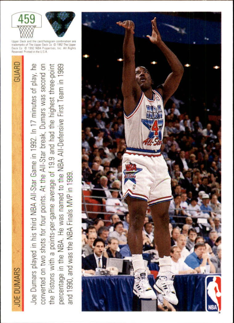 thumbnail 397 - 1991-92 Upper Deck Bk Cards 251-500 +Rookies A2500 - You Pick - 10+ FREE SHIP