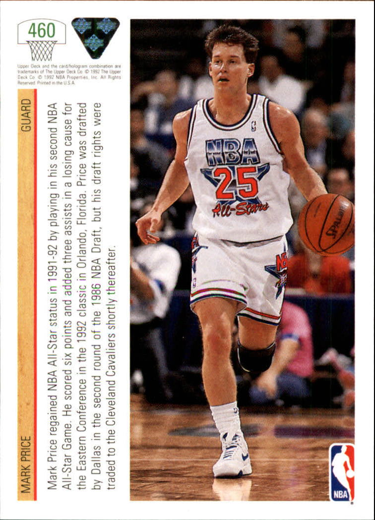 thumbnail 399 - 1991-92 Upper Deck Bk Cards 251-500 +Rookies A2500 - You Pick - 10+ FREE SHIP