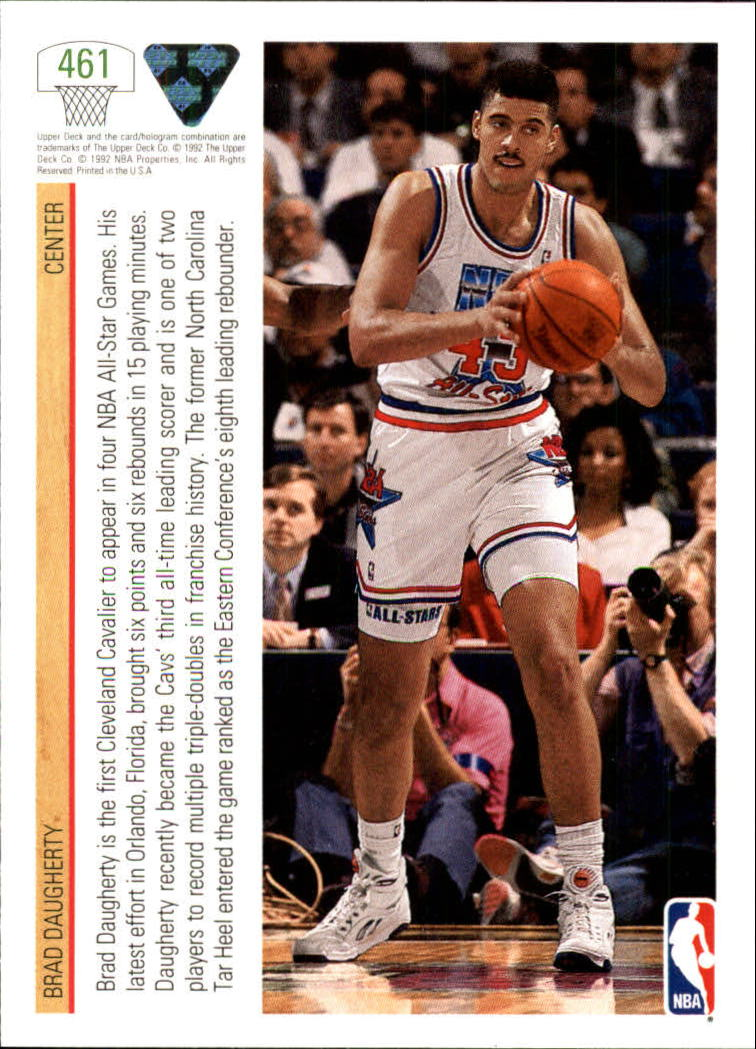 thumbnail 401 - 1991-92 Upper Deck Bk Cards 251-500 +Rookies A2500 - You Pick - 10+ FREE SHIP