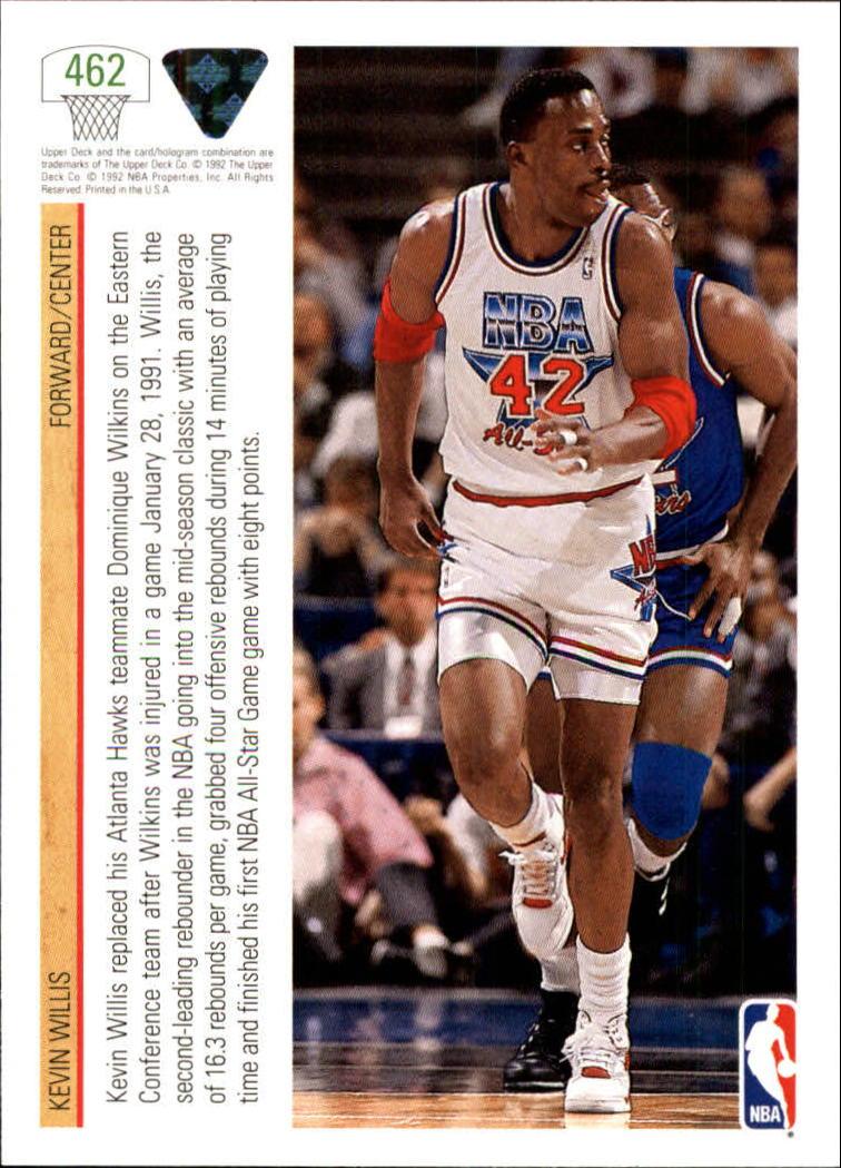 thumbnail 415 - 1991-92 Upper Deck Basketball Card Pick 251-500