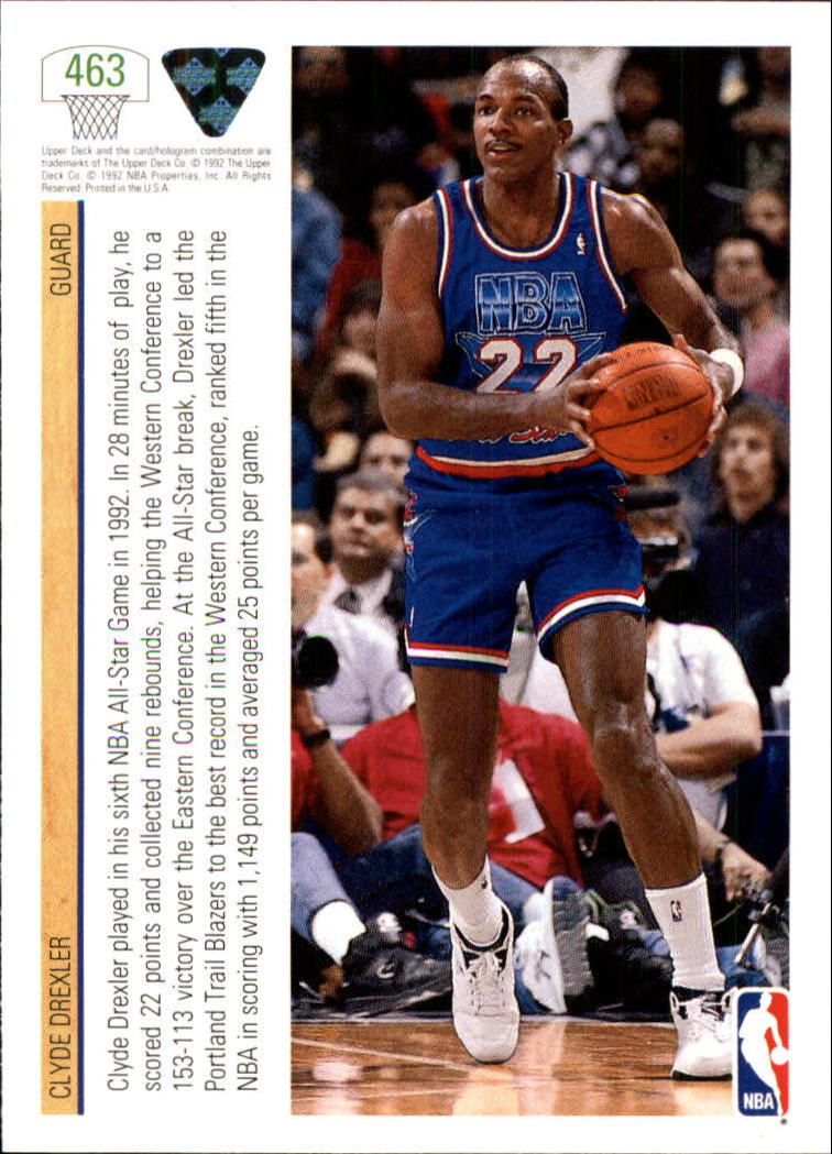 thumbnail 403 - 1991-92 Upper Deck Bk Cards 251-500 +Rookies A2500 - You Pick - 10+ FREE SHIP