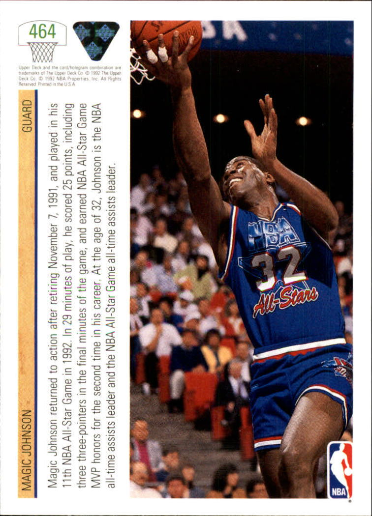 thumbnail 405 - 1991-92 Upper Deck Bk Cards 251-500 +Rookies A2500 - You Pick - 10+ FREE SHIP