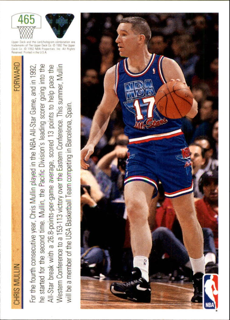 thumbnail 407 - 1991-92 Upper Deck Bk Cards 251-500 +Rookies A2500 - You Pick - 10+ FREE SHIP