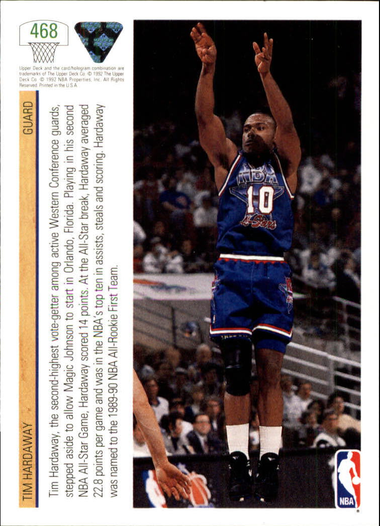 thumbnail 413 - 1991-92 Upper Deck Bk Cards 251-500 +Rookies A2500 - You Pick - 10+ FREE SHIP