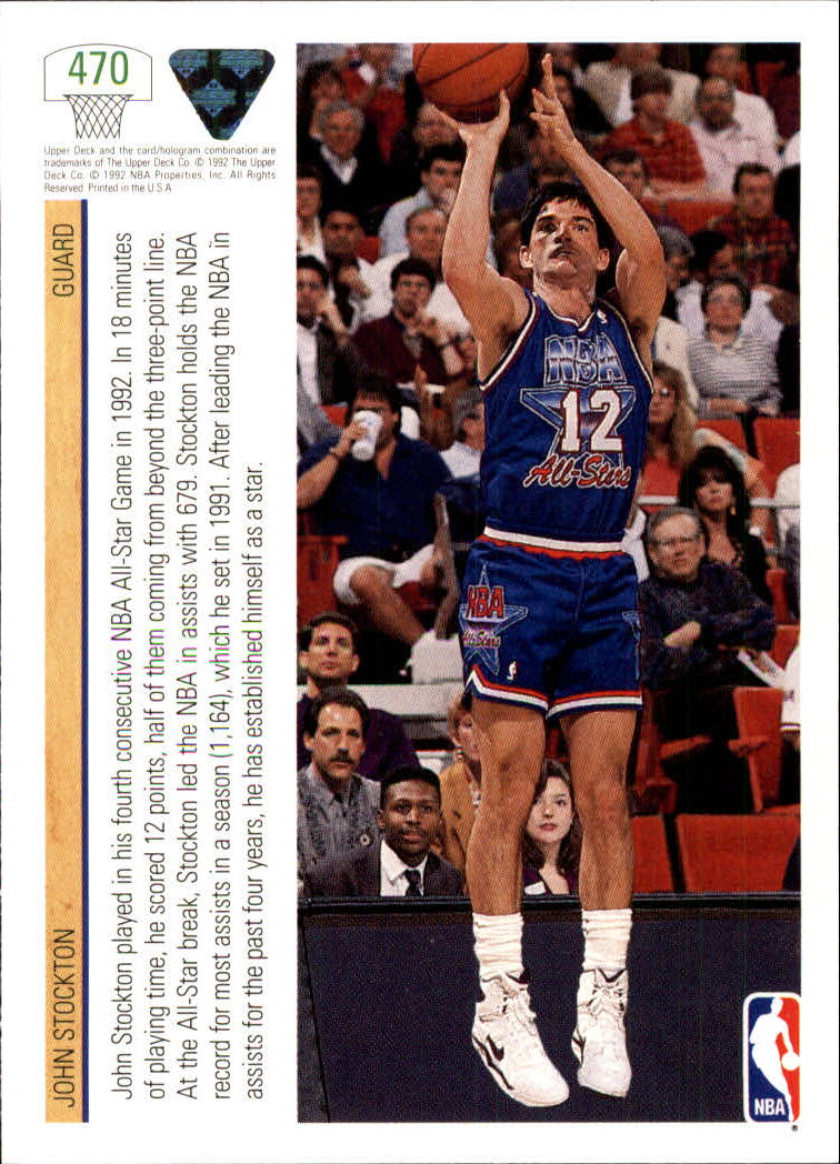 thumbnail 417 - 1991-92 Upper Deck Bk Cards 251-500 +Rookies A2500 - You Pick - 10+ FREE SHIP