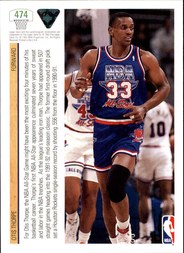 thumbnail 421 - 1991-92 Upper Deck Bk Cards 251-500 +Rookies A2500 - You Pick - 10+ FREE SHIP