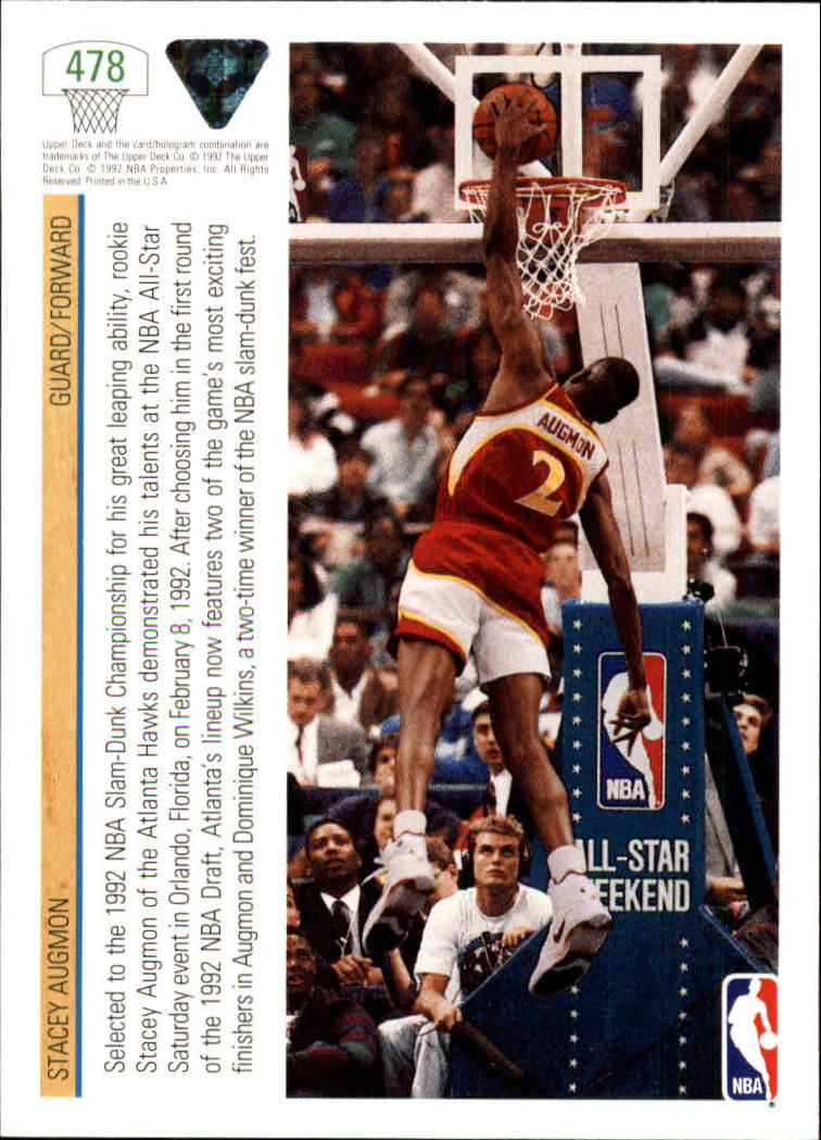 thumbnail 429 - 1991-92 Upper Deck Bk Cards 251-500 +Rookies A2500 - You Pick - 10+ FREE SHIP