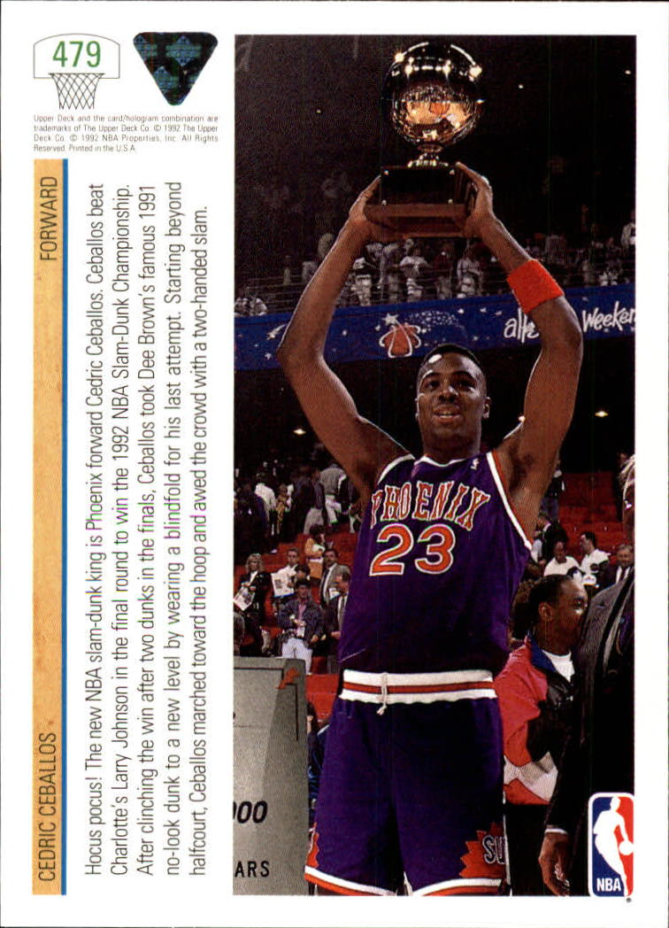 thumbnail 431 - 1991-92 Upper Deck Bk Cards 251-500 +Rookies A2500 - You Pick - 10+ FREE SHIP