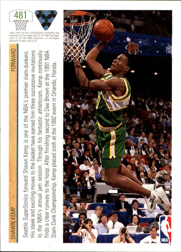 thumbnail 435 - 1991-92 Upper Deck Bk Cards 251-500 +Rookies A2500 - You Pick - 10+ FREE SHIP