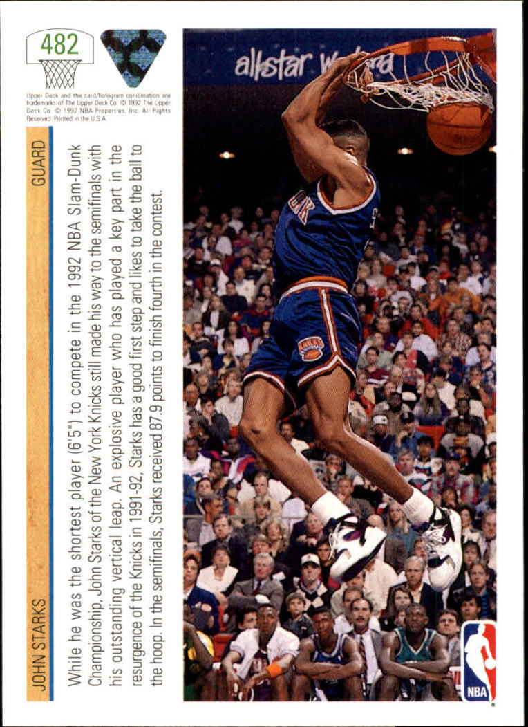 thumbnail 437 - 1991-92 Upper Deck Bk Cards 251-500 +Rookies A2500 - You Pick - 10+ FREE SHIP