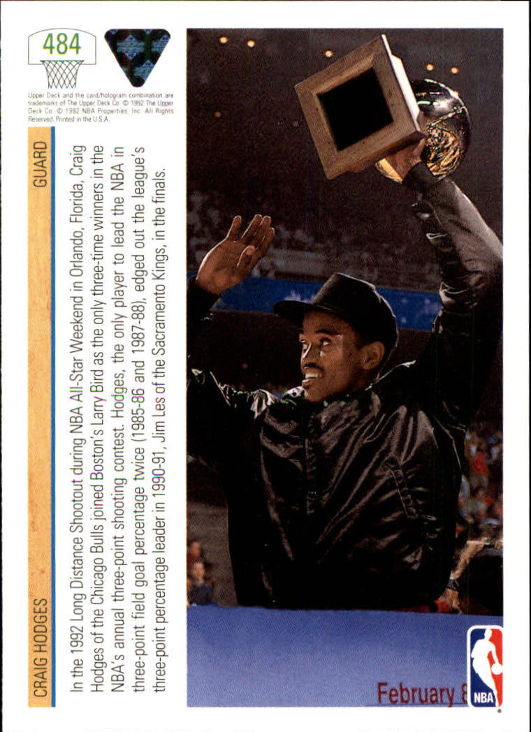 thumbnail 441 - 1991-92 Upper Deck Bk Cards 251-500 +Rookies A2500 - You Pick - 10+ FREE SHIP