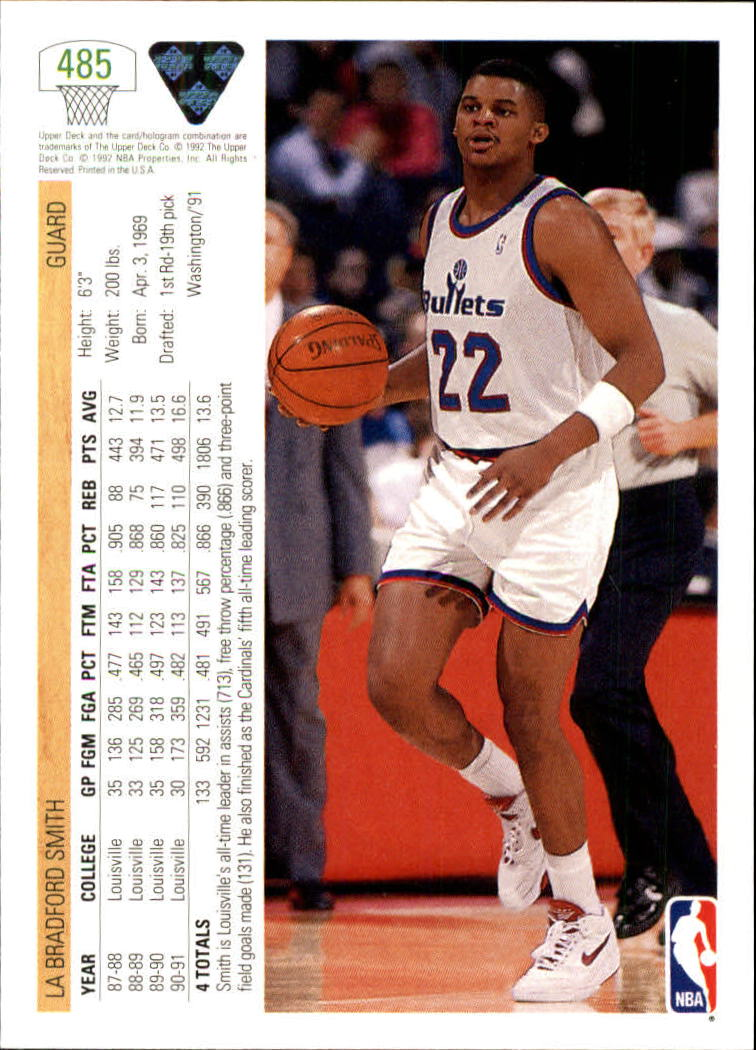 thumbnail 443 - 1991-92 Upper Deck Bk Cards 251-500 +Rookies A2500 - You Pick - 10+ FREE SHIP