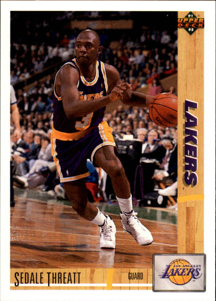 thumbnail 470 - 1991-92 Upper Deck Basketball Card Pick 251-500