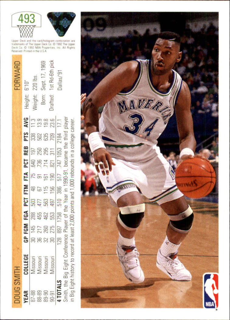 thumbnail 457 - 1991-92 Upper Deck Bk Cards 251-500 +Rookies A2500 - You Pick - 10+ FREE SHIP