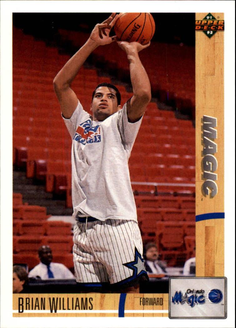 thumbnail 484 - 1991-92 Upper Deck Basketball Card Pick 251-500