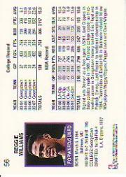 thumbnail 62 - 1991-92 Hoops Basketball (Pick Card From List 1-278) C58 5-21
